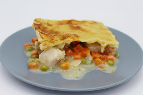 Chicken Pot Pie, Top Crust, Frozen