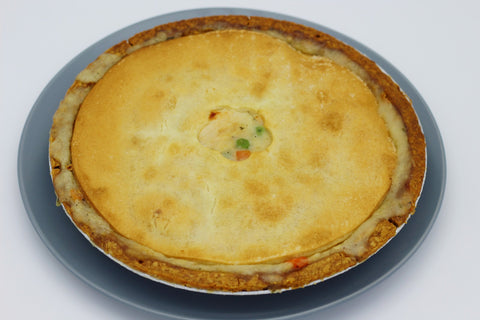 Chicken Pot Pie, Round, Frozen