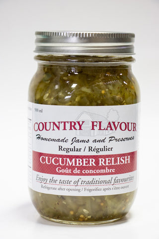 Country Flavour Cucumber Relish (500g)