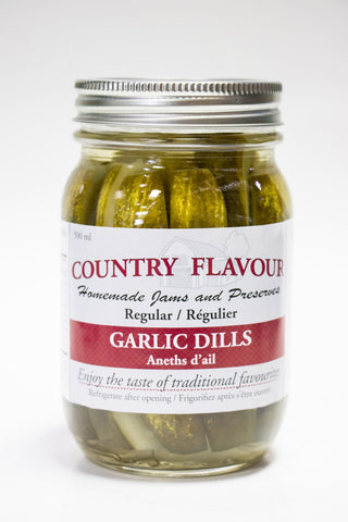 Country Flavour Garlic Dills (500g)