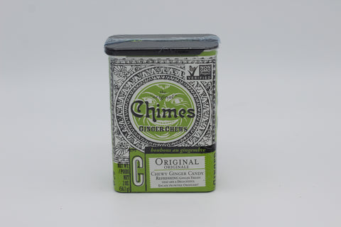 Chimes Ginger Chews Tin (includes 20 chews)