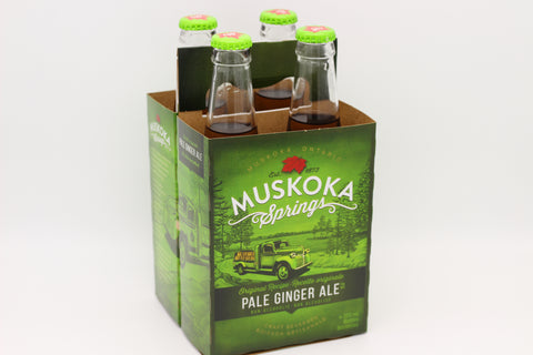 Muskoka Springs Pale Ginger Ale (4 Pack)