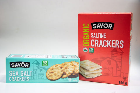 Savor Crackers