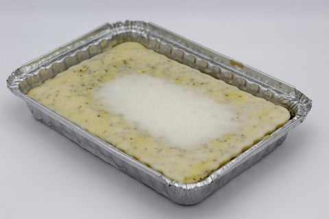 Lemon Poppyseed Square