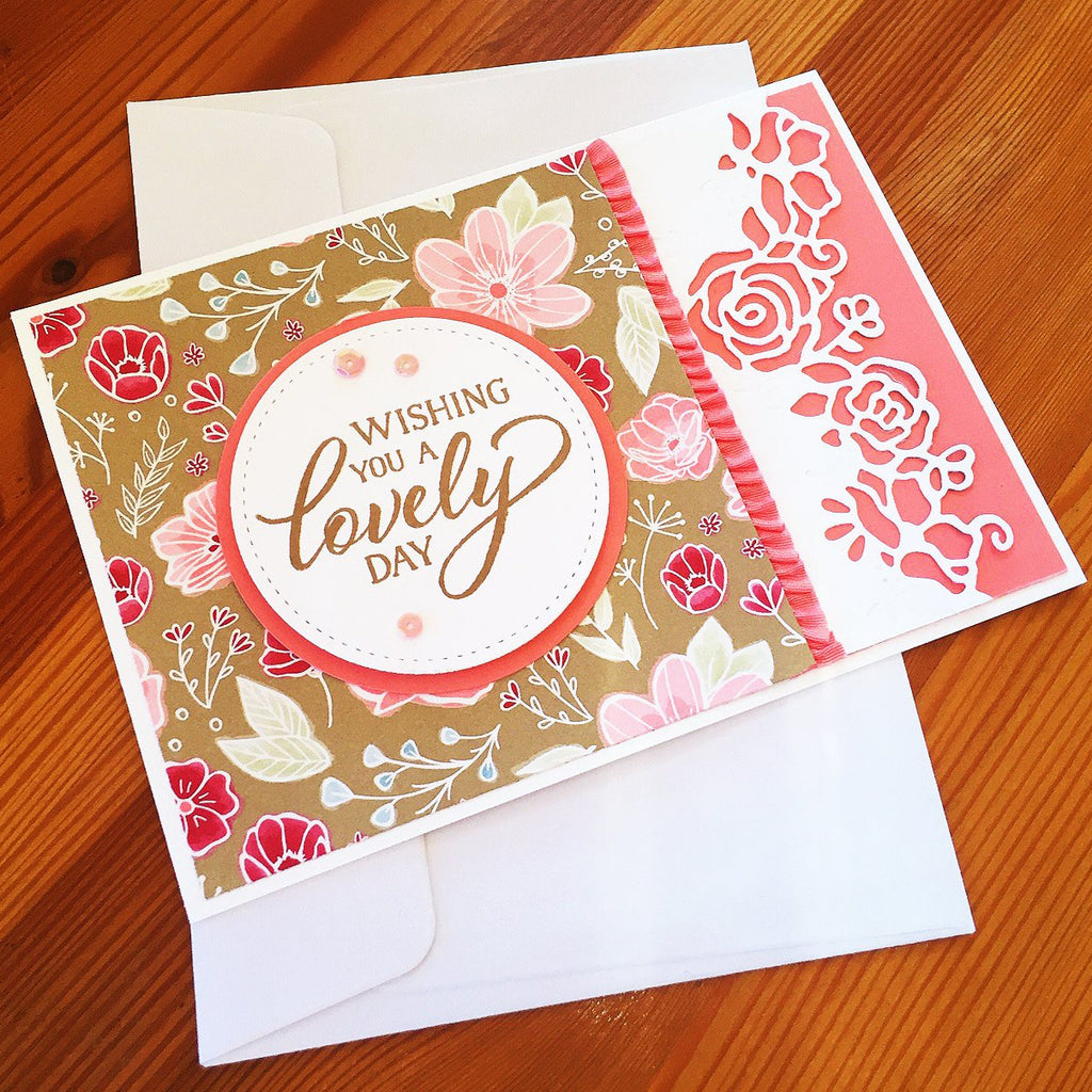 Love and Affection all Occasions Card. Generic sentiments will suit many occasions.
