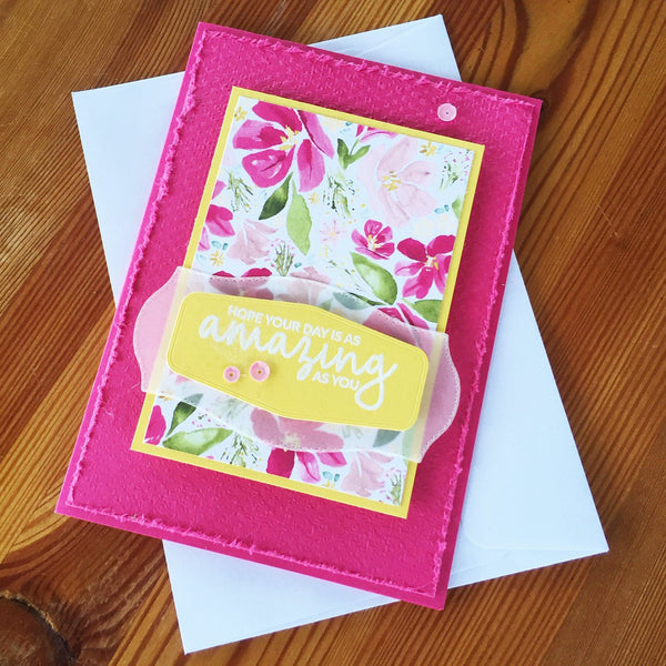 An all occasions card to suit every ocassion that you might need a card for.