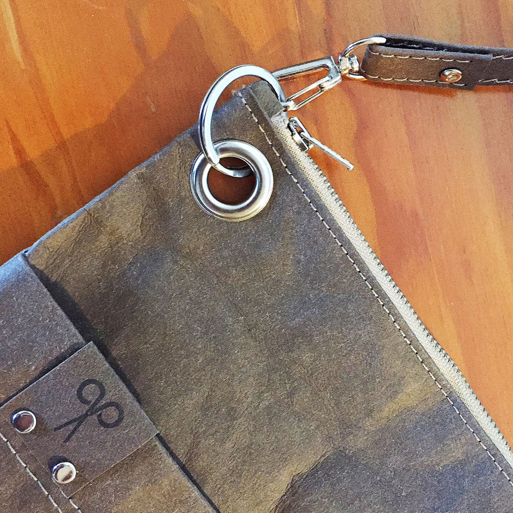 Fashionable but practical, sustainable and eco and vegan friendly crossbody bag.