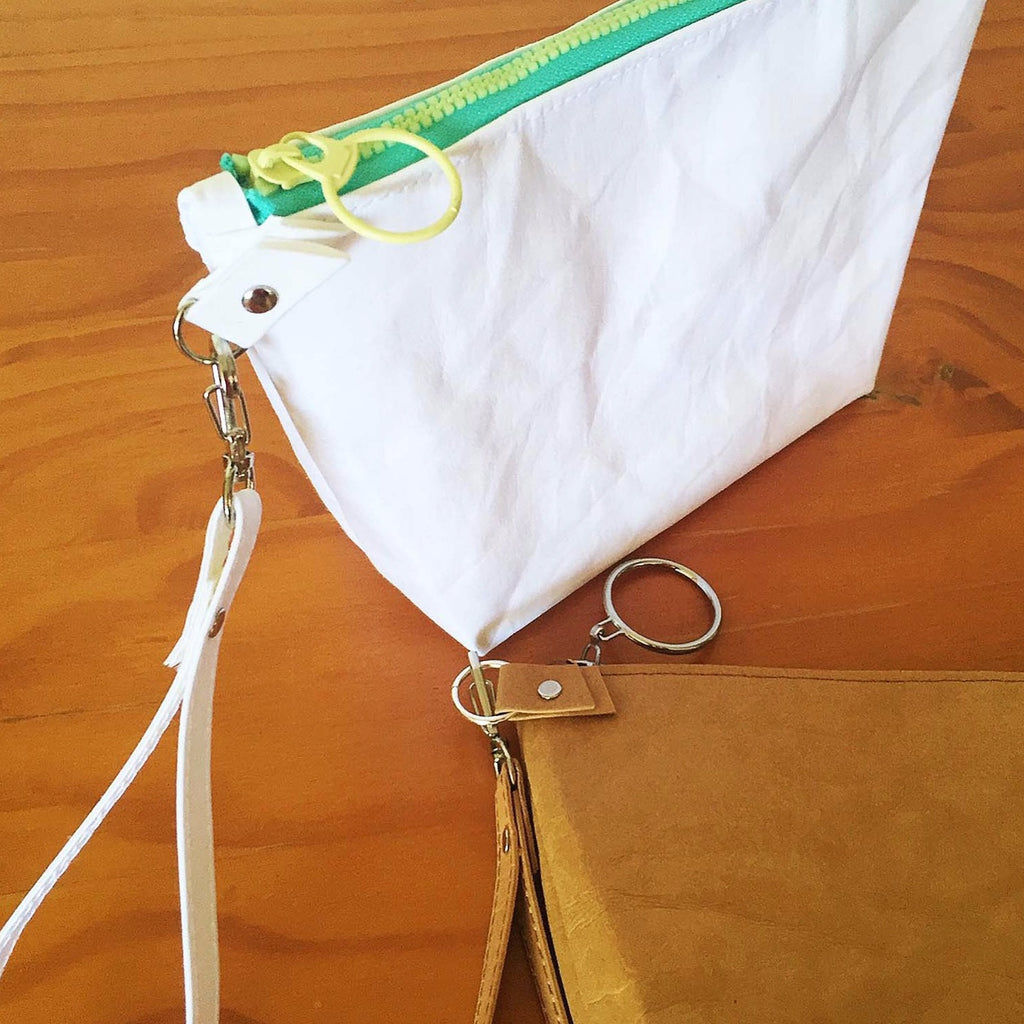The Washable Paper 'pouch' has multiple uses – use as a make-up or toiletry bag.