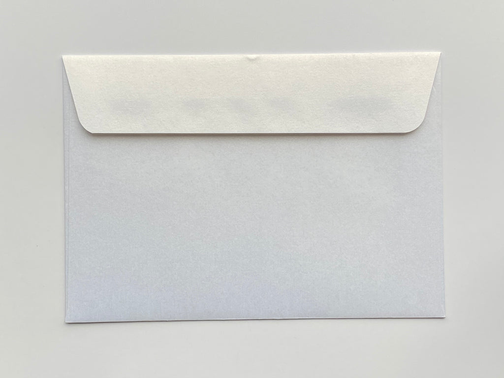 100x140mm metallic envelope