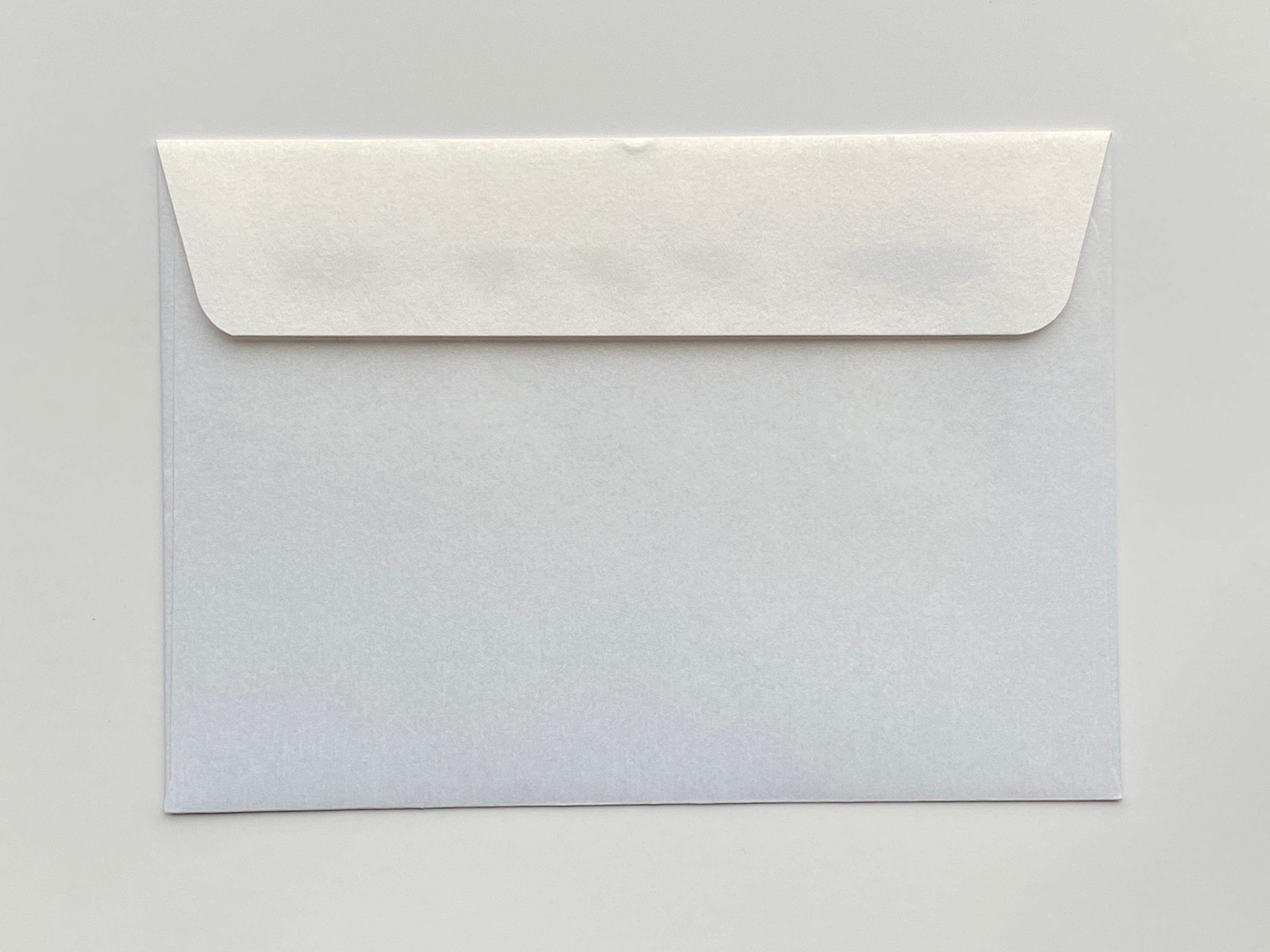 130x185mm metallic envelope