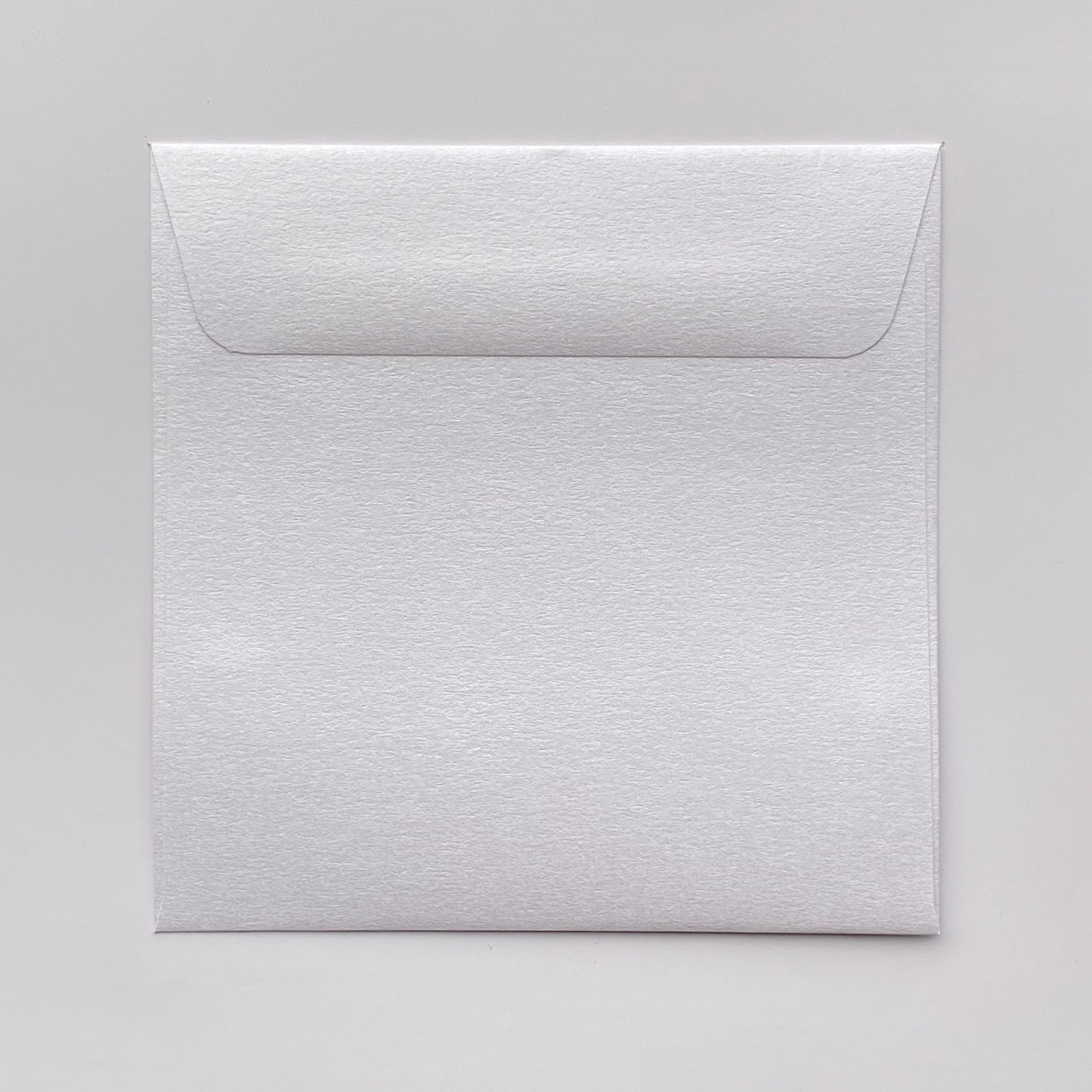 155mm square metallic envelopes