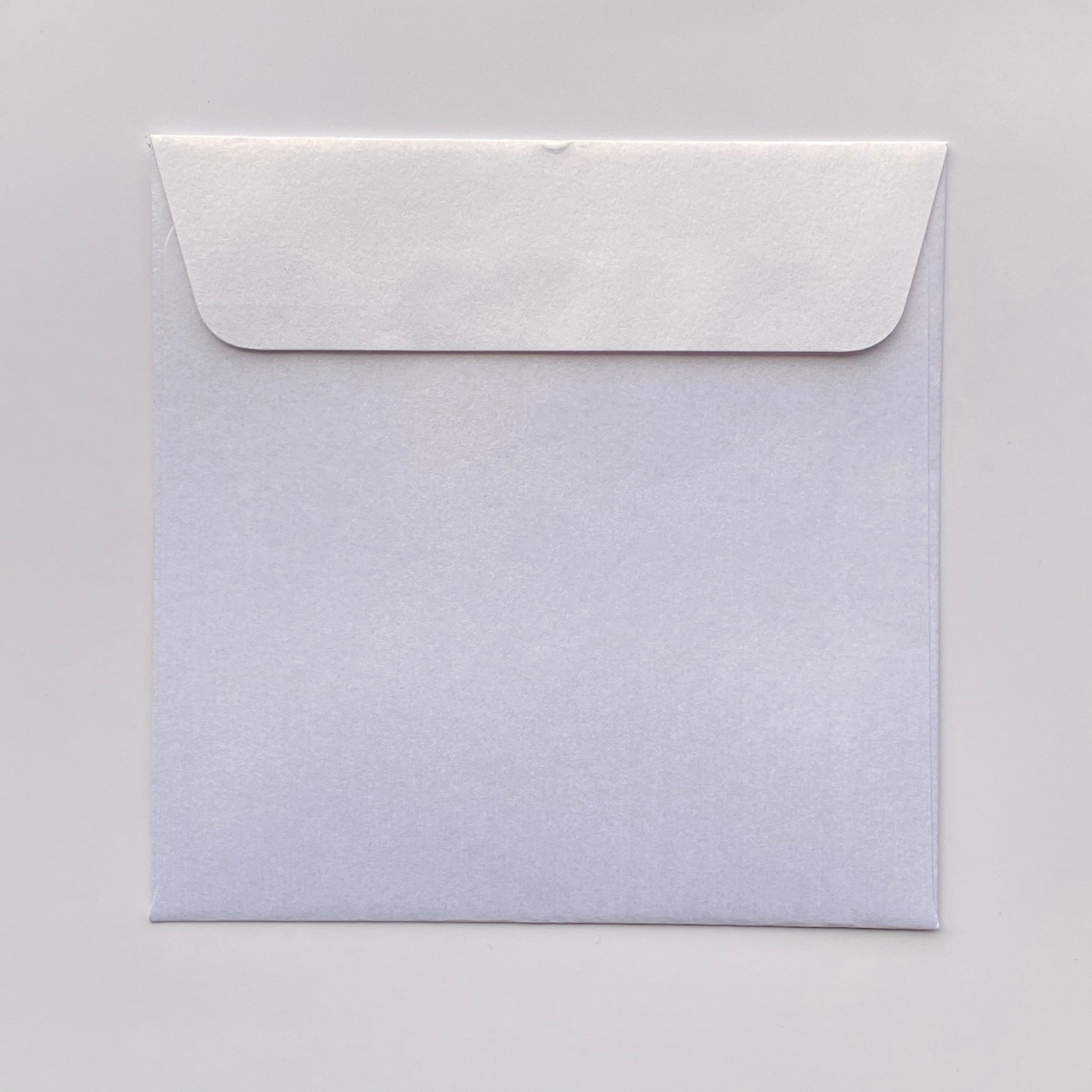 165mm square metallic envelopes