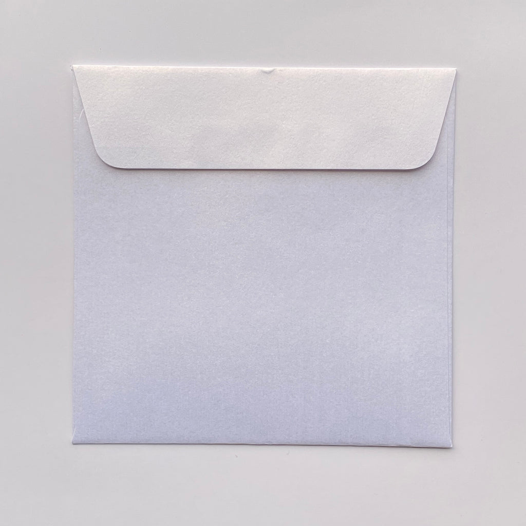 110mm square metallic envelopes