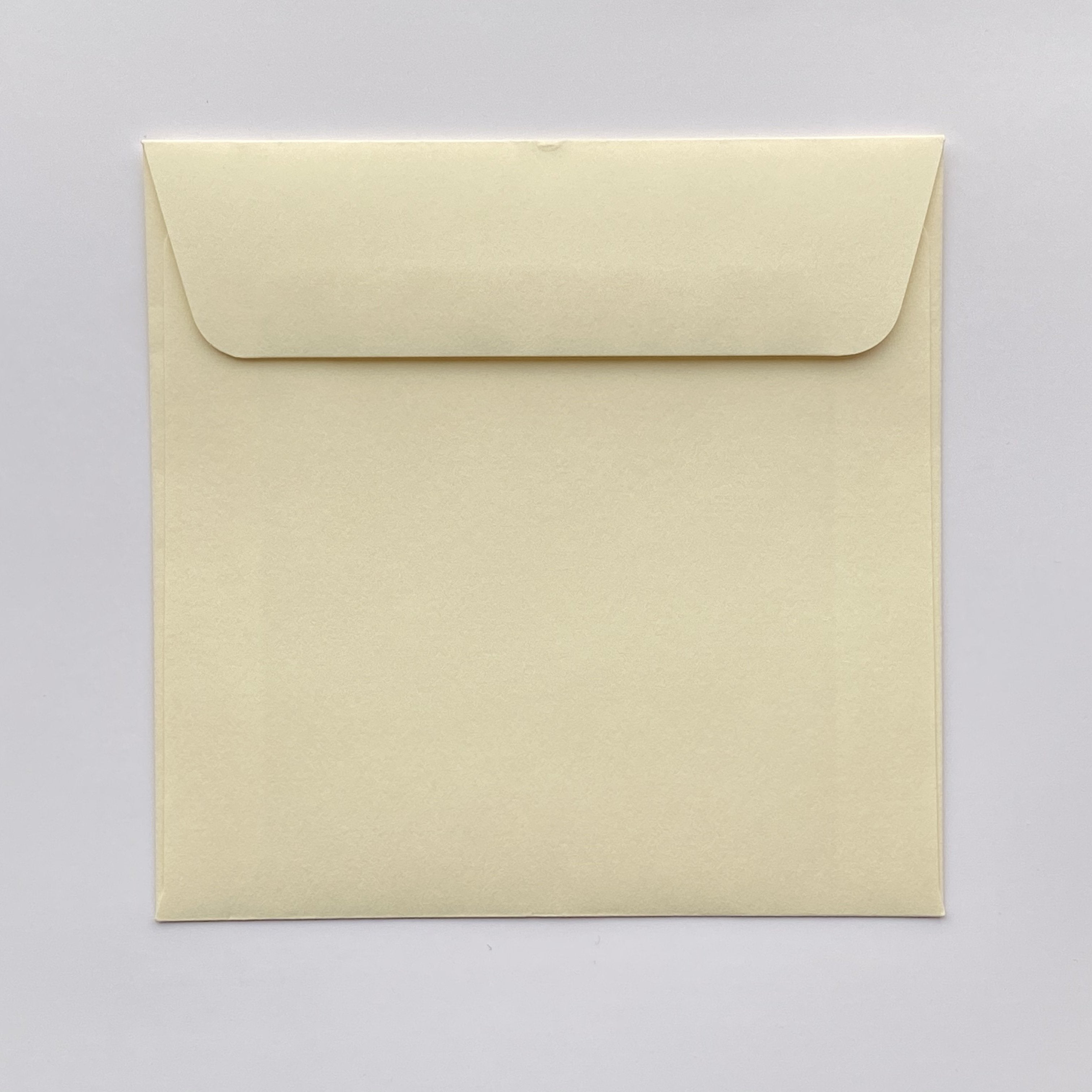155mm square coloured envelopes