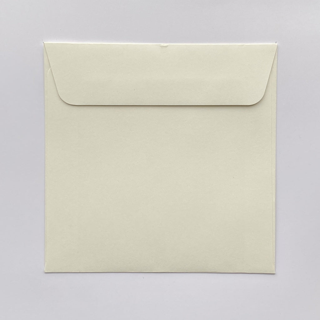 140mm square coloured envelopes