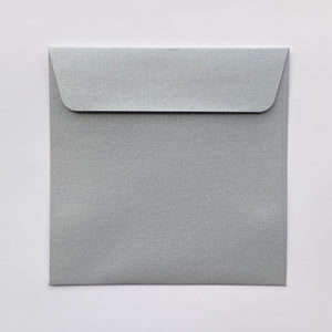 85mm square metallic envelopes