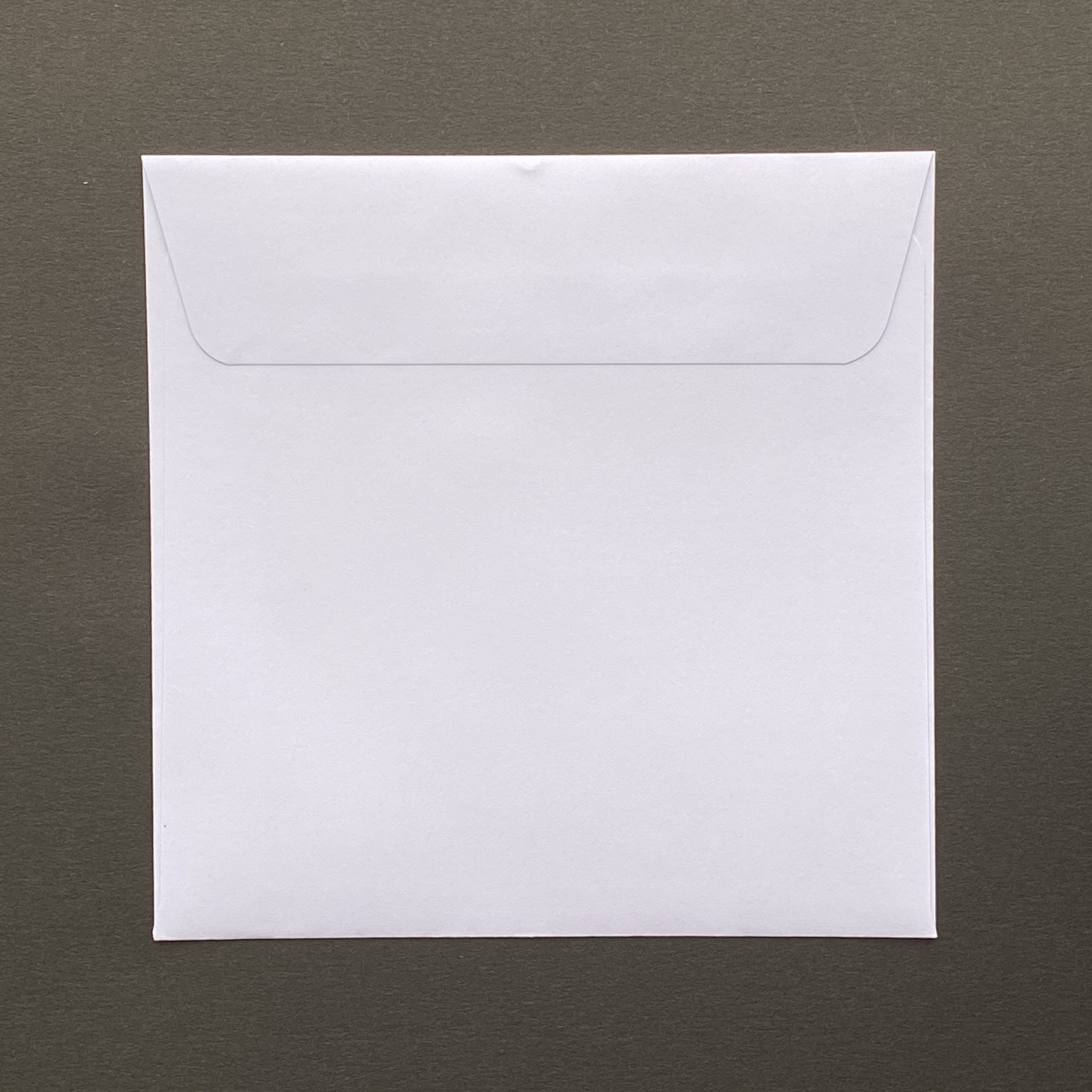 220mm square white envelope