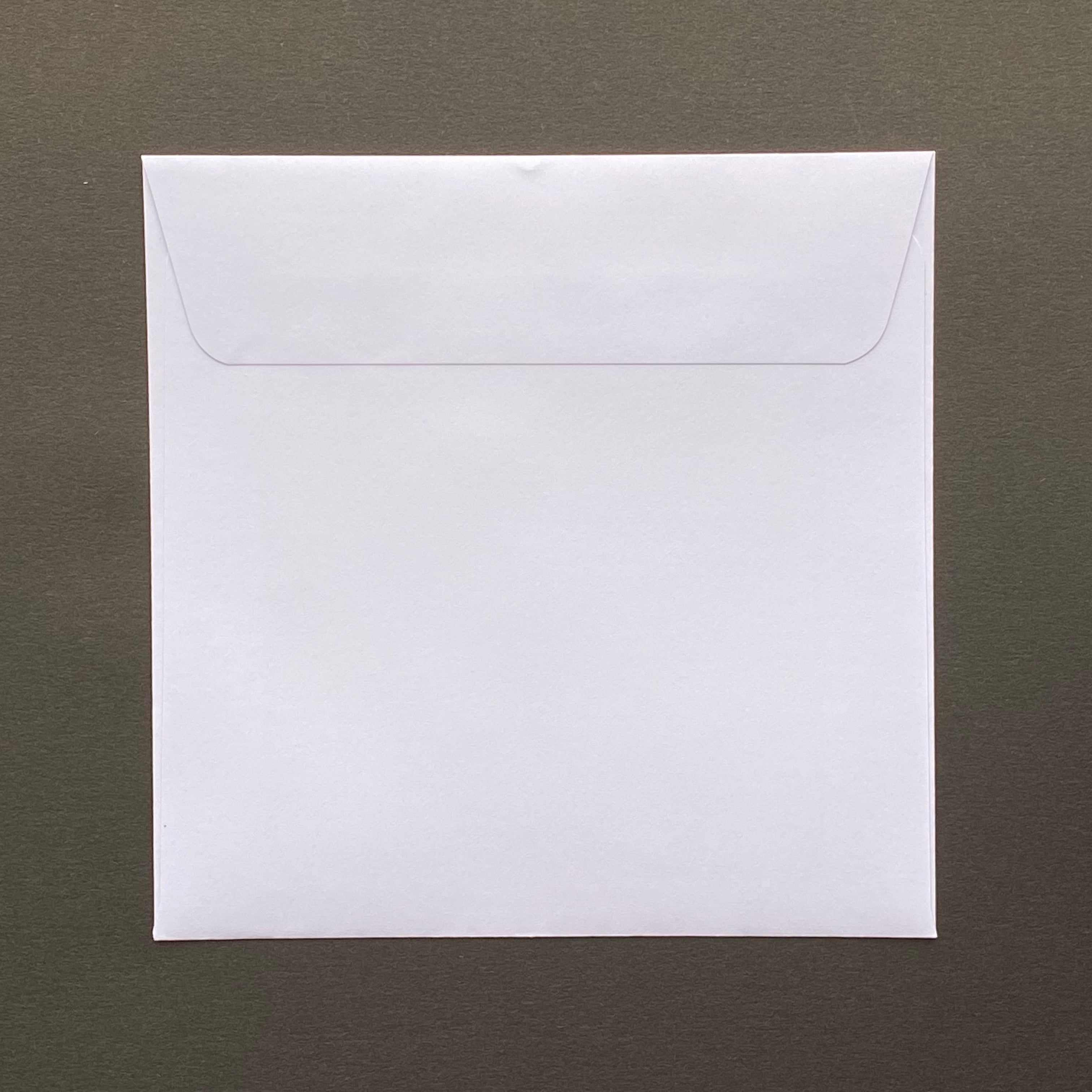 155mm square white envelopes