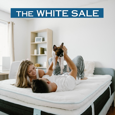 "The WHITE Sale (SAVE 25%-30% off 14"" Lux Hybrid Mattress)"