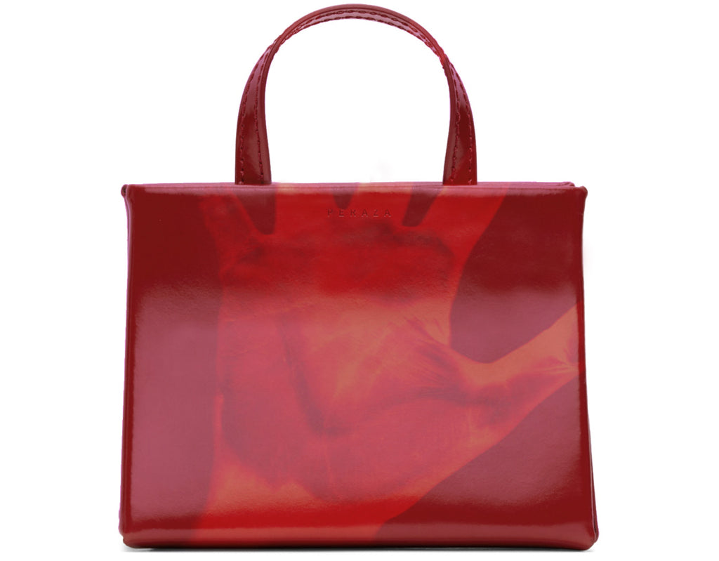 HELPING HAND RED LEATHER CARRIER