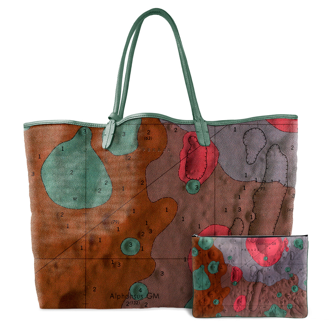 ALPHONSUS WARM LEATHER TOTE