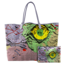 Load image into Gallery viewer, HEVELIUS MULTICOLOR LEATHER TOTE