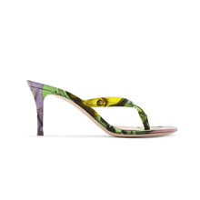 Load image into Gallery viewer, HEVELIUS MULTICOLOR HEEL SANDALS