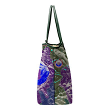 Load image into Gallery viewer, INVERTED HEVELIUS MULTICOLOR LEATHER TOTE