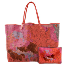 Load image into Gallery viewer, COPERNICUS RED LEATHER TOTE