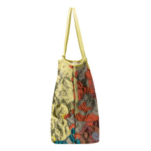 Load image into Gallery viewer, TYCHO YELLOW LEATHER TOTE