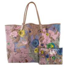 Load image into Gallery viewer, GEMINUS BROWN LEATHER TOTE