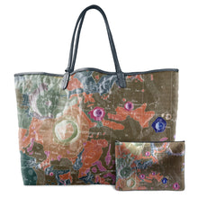 Load image into Gallery viewer, INVERTED ARISTOTELES MULTICOLOR LEATHER TOTE