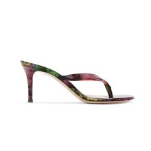 Load image into Gallery viewer, FRA MAURO VIOLET HEEL SANDALS