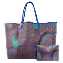 Load image into Gallery viewer, INVERTED APENNINE LAVENDER LEATHER TOTE