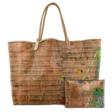 Load image into Gallery viewer, APOLLO ORANGE LEATHER TOTE