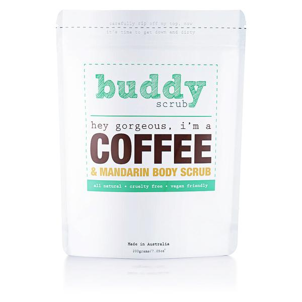 Buddy Coffee & Mandrin Body Scrub