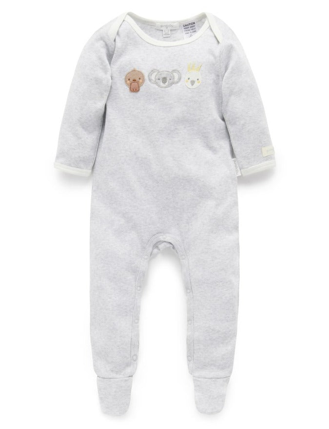 Purebaby Bush Babies Growsuit