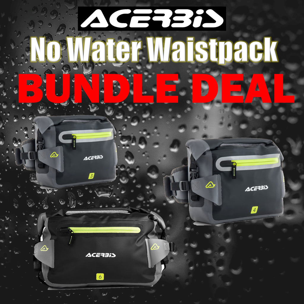 RESTOCKED: Acerbis No Water Waistpack