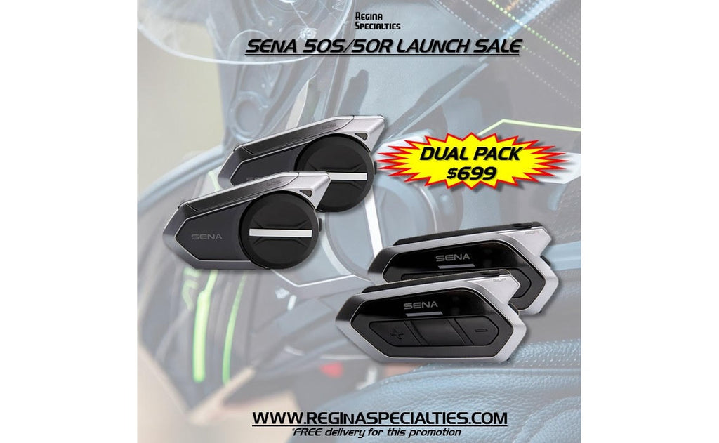 SENA 50S/50R LAUNCH SALE