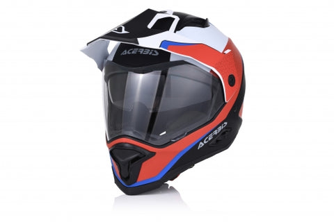 Acerbis Reactive Graffix Red/White Helmet