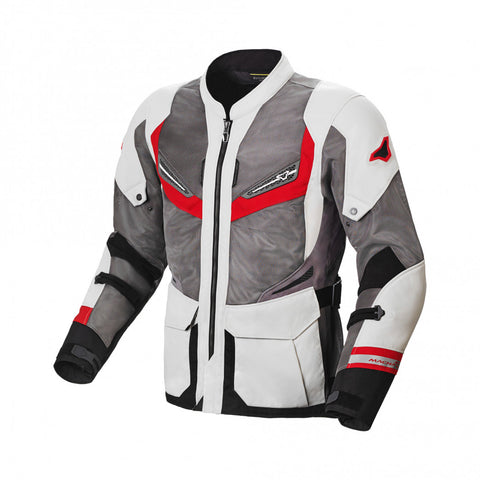 Macna Aerocon Night Eye Red Jacket