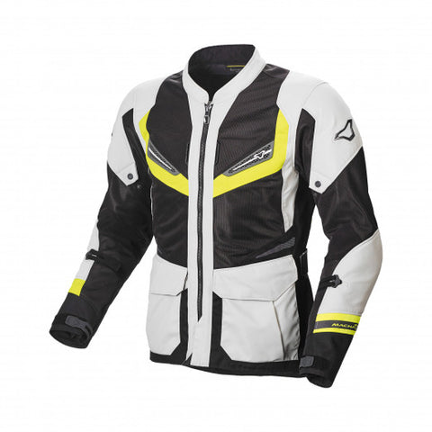 Macna Aerocon Night Eye Fluorescent Yellow Jacket