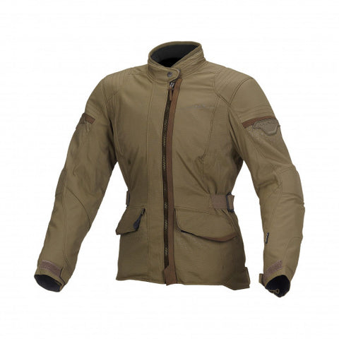 Macna Shine Green Women Jacket