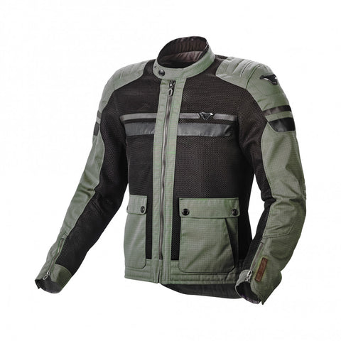 Macna Fluent Green/Black Jacket