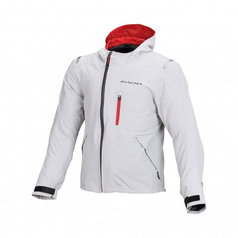 Macna Refuge Light Grey Jacket