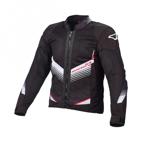 Macna Rewind Black White Jacket