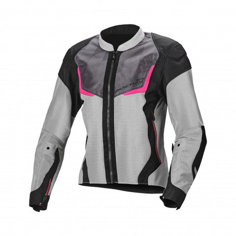 Macna Orcano Grey Black Pink Women Jacket