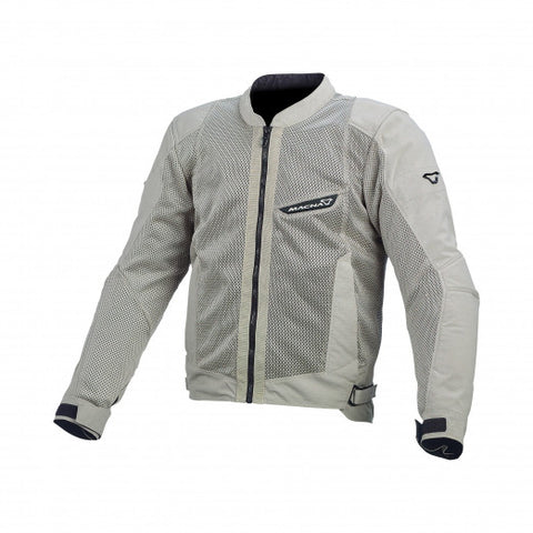 Macna Velocity Light Grey Jacket
