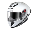 Shark Race-R Pro GP 30th Anniversary Limited Edition White Carbon Black Helmet (WDK)