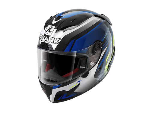 Shark Race-R Pro Black Blue Yellow Helmet (KBY)